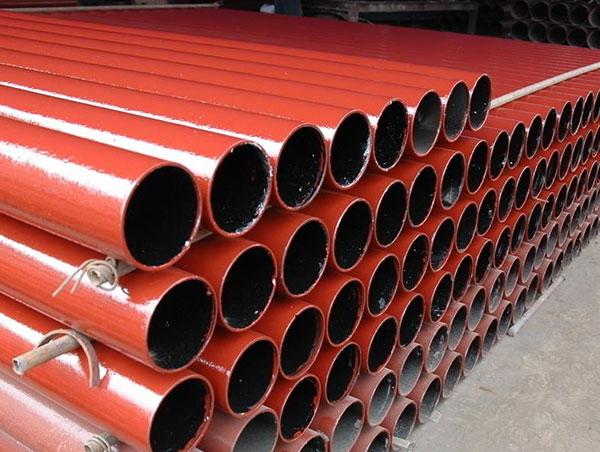 雨污水用离心球墨铸铁管(铁红色)